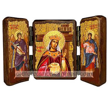 Икона Елена Святая Равноапостольная Царица  ,икона на дереве 260х170 мм