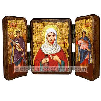 Икона Иоанна Святая Мироносица  ,икона на дереве 260х170 мм