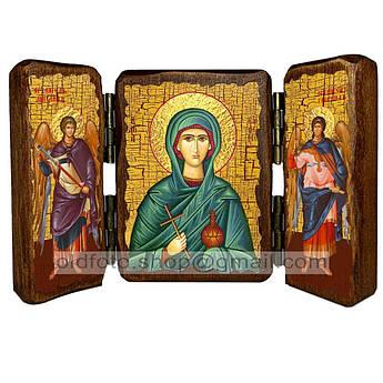 Икона Соломия Святая мироносица  ,икона на дереве 260х170 мм