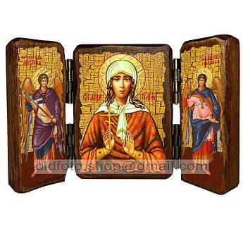 Икона Иулия (Юлия) Святая Мученица   ,икона на дереве 260х170 мм