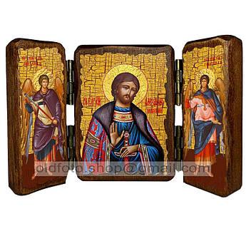 Икона Александр Святой Благоверный Князь Невский  ,икона на дереве 260х170 мм