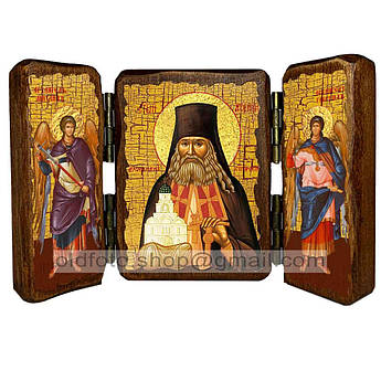 Икона Арсений Святой Преподобный Святогорский  ,икона на дереве 260х170 мм