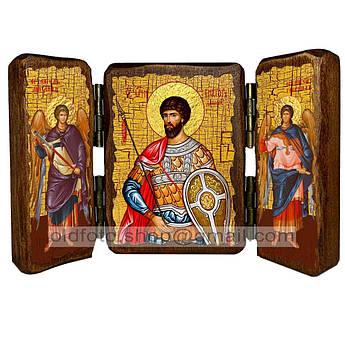Икона Виктор Святой Мученик Дамасский  ,икона на дереве 260х170 мм