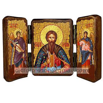 Икона Вячеслав (Вацлав) Святой Благоверный Князь Чешский  ,икона на дереве 260х170 мм