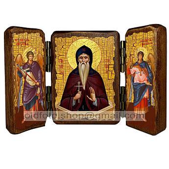 Икона Даниил Святой Столпник  ,икона на дереве 260х170 мм