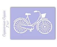 Трафарет для пряников велосипед
