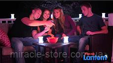 Портативный складной фонарь лампа Pop-up Lantern набор 4 шт переносная лампа, фото 3