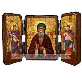 Икона Олег Святой Благоверный Князь Брянский  ,икона на дереве 260х170 мм