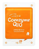 Тканевая маска для лица Mijin Cosmetics Mj Care On Coenzyme Q10. С натуральным коэнзимом
