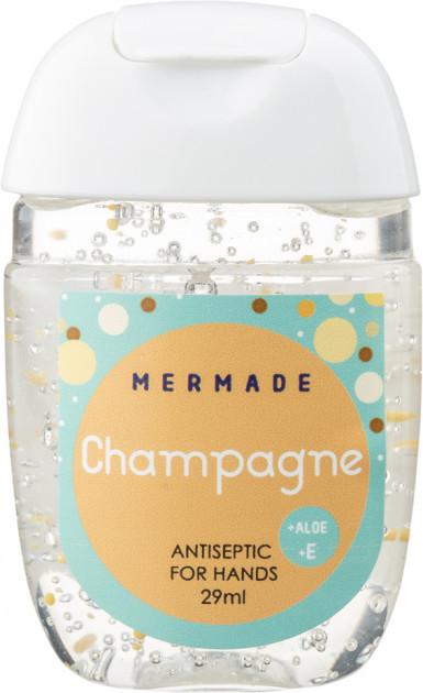 Санитайзер антисептик для рук Mermade Champagne(шампанское)Perfume Hand Gel 29 мл