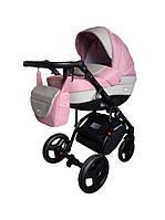 Универсальная коляска 2 в 1 Ajax Group Alpina,  Розовый