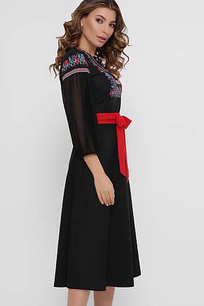 GLEM Орнамент платье Сапфира д/р М, фото 2