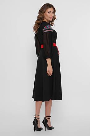 GLEM Орнамент платье Сапфира д/р М, фото 3