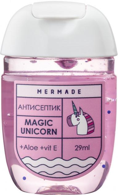 Санитайзер антисептик для рук Mermade Magic Unicorn Hand Gel 29 мл 70% спирта
