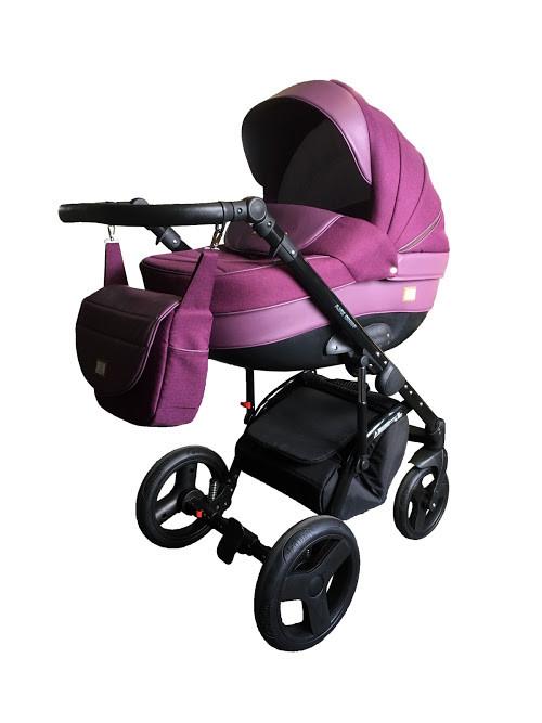 Универсальная коляска 2 в 1 Ajax Group Alpina,  Фиолетовый
