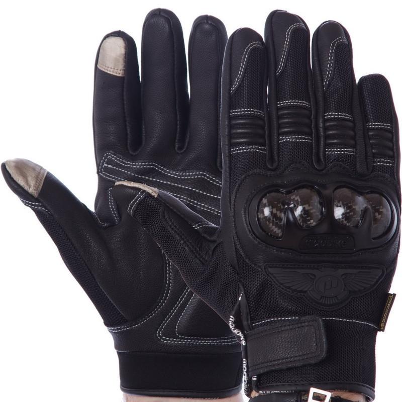 Мотоперчатки MADBIKE черный MAD-02L