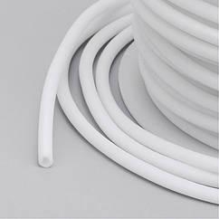 Шнур Monisto Резина Полый 2мм Отверстие около 1мм Цвет: Белый 5м