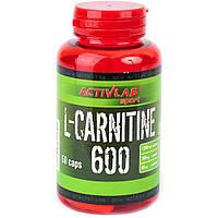 Жиросжигатели Activlab L-Carnitine 600 (60 caps)