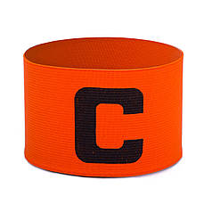 Повязка капитанская (PL, эластан, безразмерная, цвет салатовый) Оранжевый PZ-FB-113_1
