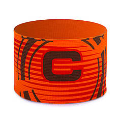 Повязка капитанская (PL, эластан, безразмерная, цвет салатовый) Оранжевый PZ-FB-115_1