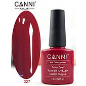 Гель лак Canni 7.3 мл №027