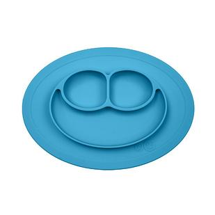Детская тарелка-коврик Синий (hub_IiRu58224)