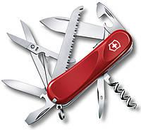 Качественный швейцарский складной нож Victorinox Evolution S17 23913.SE красный