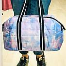 Сумка Спортивная Victoria's Secret PINK Sport Quilted Duffle Gym Bag, Голубая, фото 2