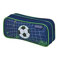 50021291K Пенал Herlitz Double Kick It Футбол