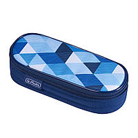 50021215 Пенал Herlitz Case Flap Cubes Blue Кубики голубые