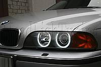 """BMW 5 (E39) - замена моно линз Hella D2S на биксеноновые линзы MOONLIGHT G6/Q5 H4 D2S 3,0"""" в фарах, фото 1"""