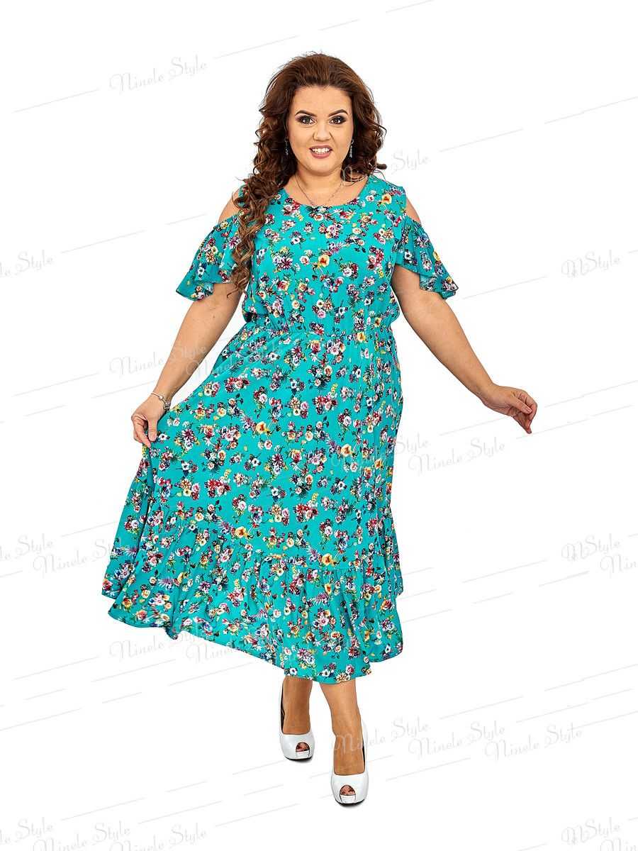 Повседневное женское платье 424-4 52