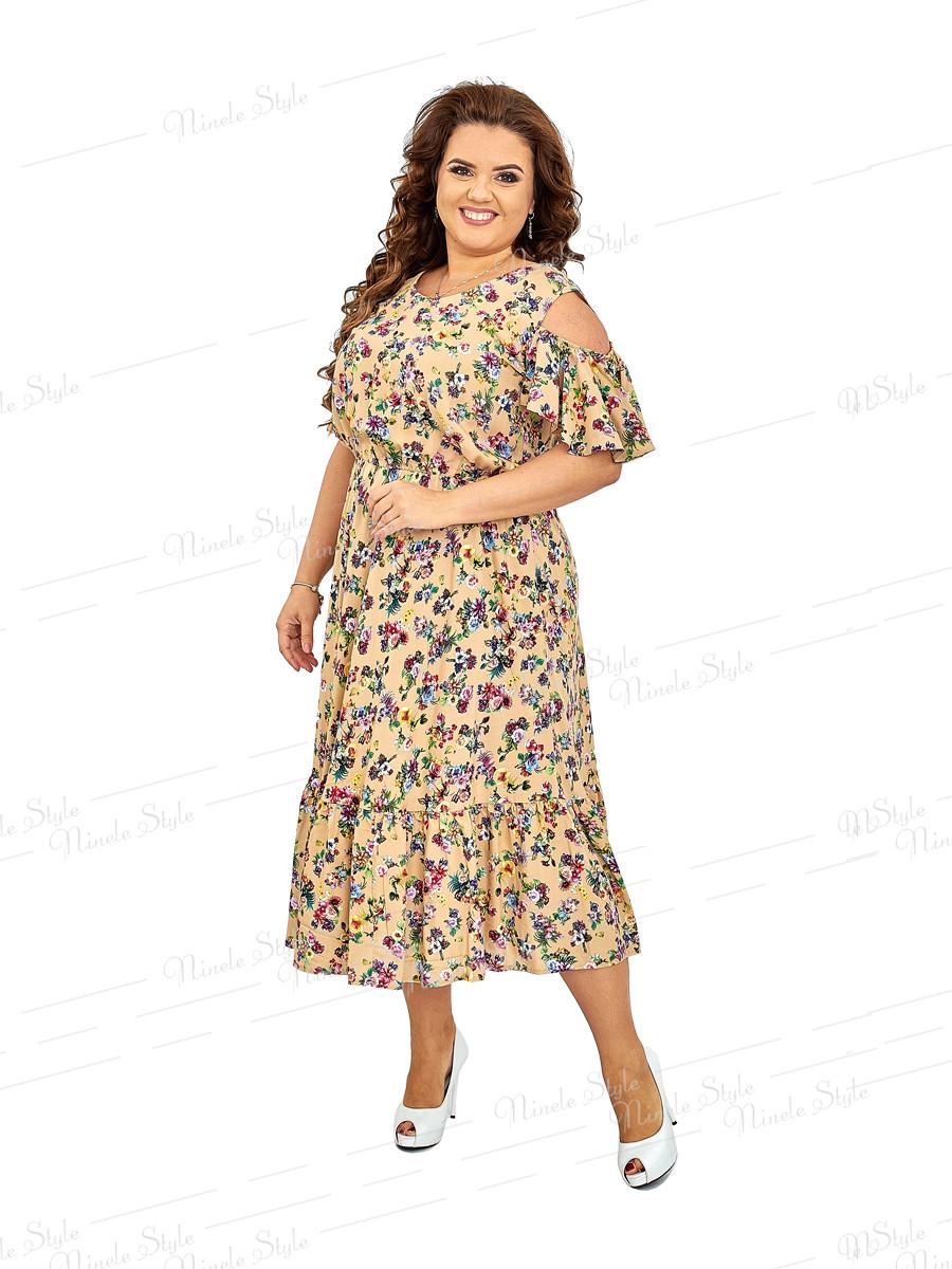 Повседневное женское платье 424-3 52