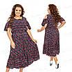 Повседневное женское платье  424-1 52, фото 4