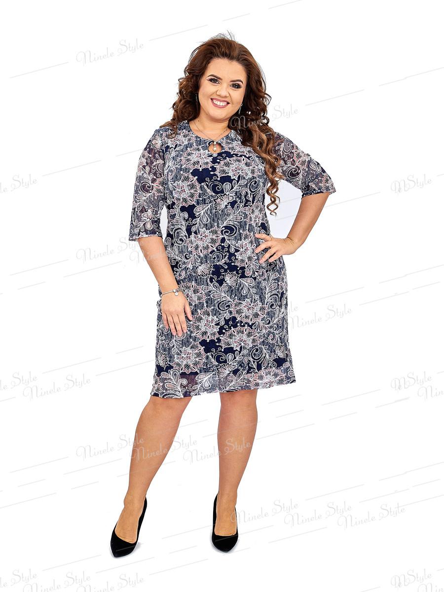 Гипюровое женское платье 428-1 54