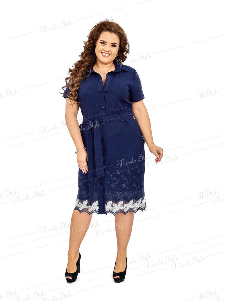 Повседневное женское платье -халат 419 54