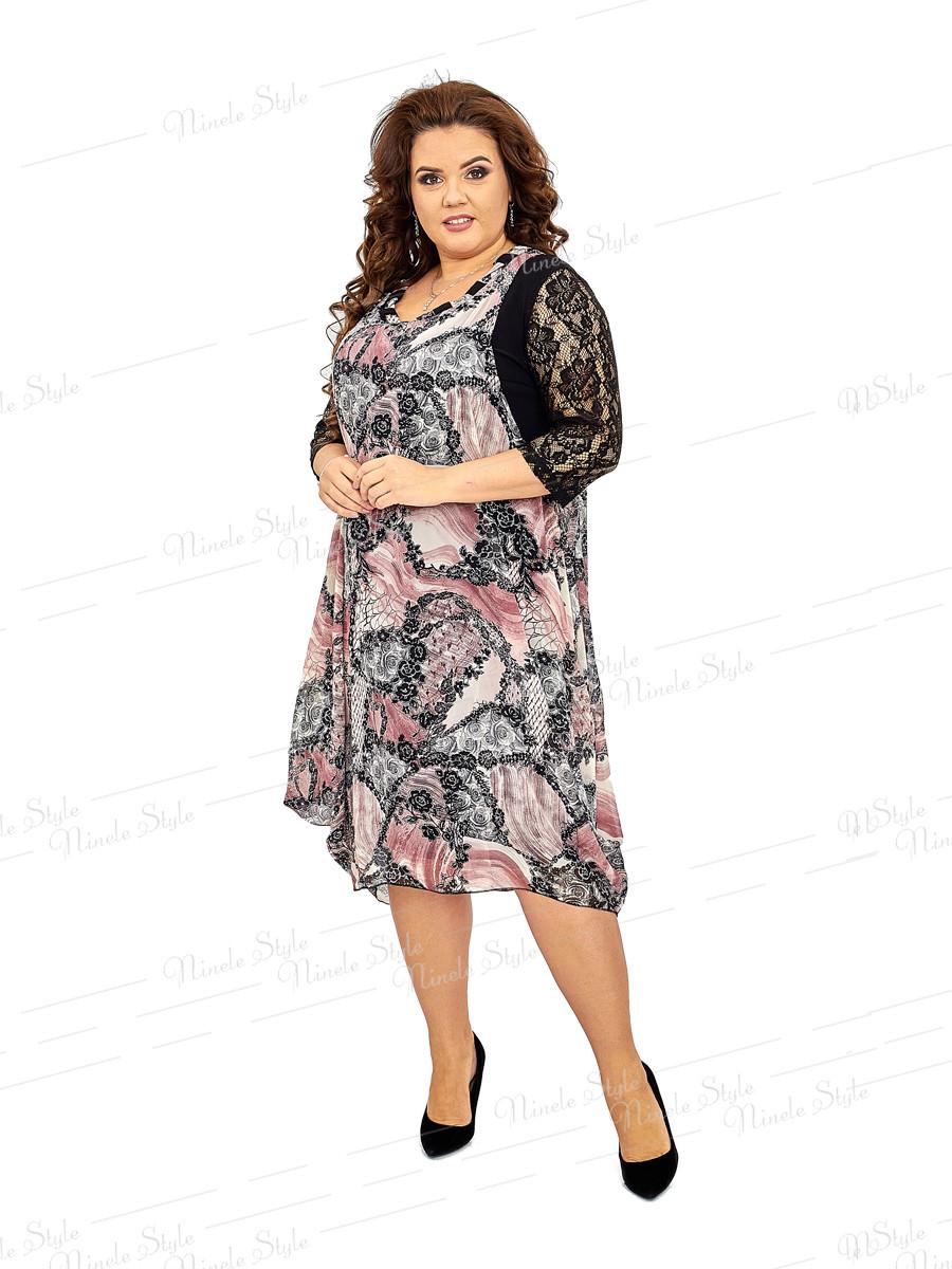 Шифоновое женское платье  430 56