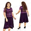 Платье женское Ninele Style цвета баклажан 420 54, фото 4
