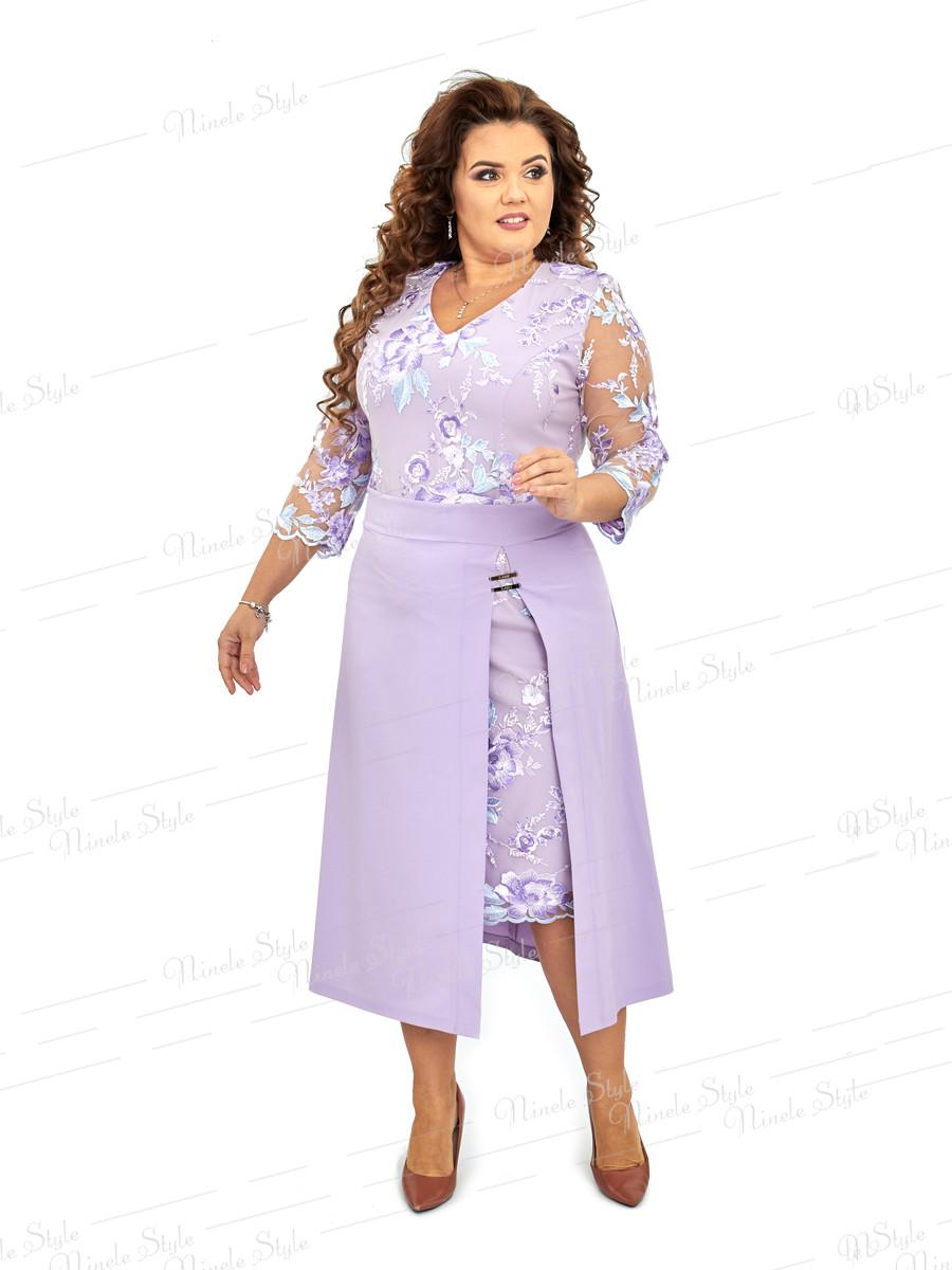Нарядное женское платье Ninele Style  421 54