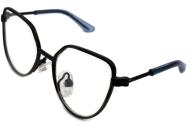"""Очки для собак Multibrand """"Black/Plain"""" черный/прозрачное стекло"""
