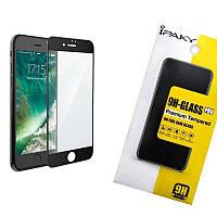 Стекло iPaky 3D для iPhone 7 Plus/8 Plus Черный (iP3729), фото 1