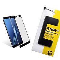 3D стекло iPaky для Samsung A530 (A8 2018) Черный (iP3742), фото 1