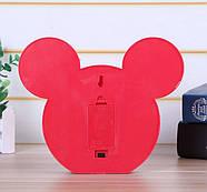 Нічник світильник Mickey Mouse чорний, фото 3