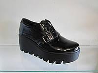 Туфли женские кожанные демисезонные
