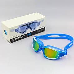 Очки-полумаска для плавания Speedo (поликарбонат, TPR, силикон) S8600 PZ-8-012323552