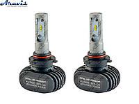 Автомобильные светодиодные LED лампы HB3 (9005) Cyclone 5000K type 9A комплект для авто