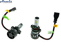 Автомобильные светодиодные LED лампы H16 Cyclone 5000K type 19 комплект для авто