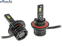 Автомобильные светодиодные LED лампы H13 Cyclone 5000K type27S комплект для авто