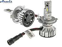 Автомобильные светодиодные LED лампы H4 Cyclone 5000K type29 v2 комплект для авто