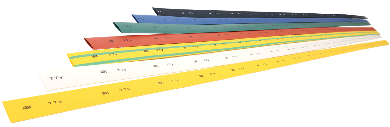 Трубка термоусадочная ТТУ 50/25 красная (1м), ИЕК [UDRS-D50-1-K04]